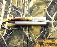 Складной нож-брелок № 516 в оригинальном дизайне. Удобный, прочный, компактный балисонг, фото 1