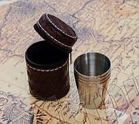 Рюмки (стопки) 30 мл 6 штук в комплекте, туристические, походные. Отличное качество, фото 1