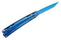 Функциональный нож-бабочка (балисонг) 15-AB скелетного типа. Не является Х,О, фото 1