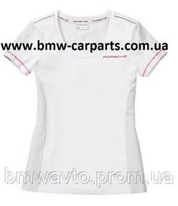 Женская футболка Porsche Women's T-Shirt, Racing, White