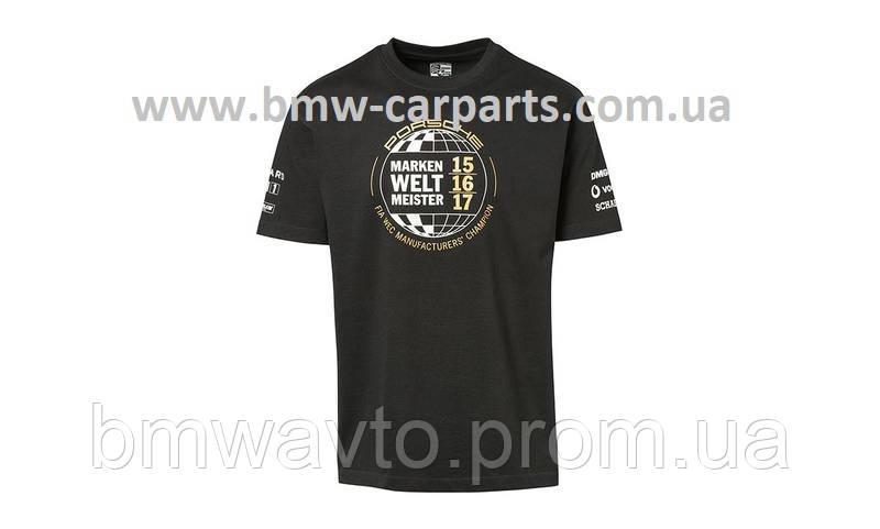 Футболка унісекс Porsche T - Shirt, Unisex, Black - Markenweltmeister