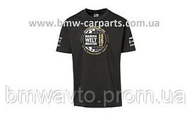 Футболка унисекс Porsche T- Shirt, Unisex, Black - Markenweltmeister
