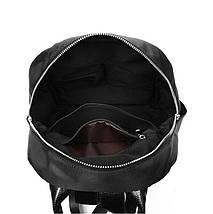 Рюкзак жіночий. Чорний, фото 3