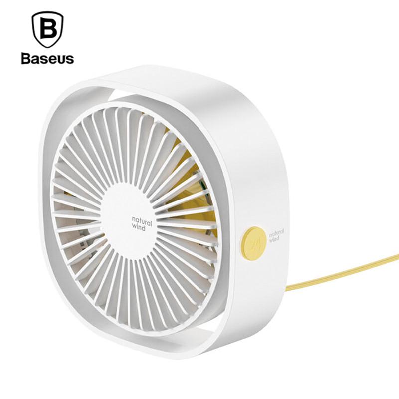 Настольный вентилятор Baseus Flickering Desktop Fan CXYE-02 (Белый)