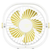 Настольный вентилятор Baseus Flickering Desktop Fan CXYE-02 (Белый), фото 3