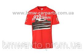 Футболка унісекс Porsche T - Shirt, Unisex, Red - 919 Tribute