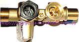 Клапан латунный 3-х ходовой в сборе (без фир.уп, Турция) котлов газовых Demrad Aden, арт.BH32, к.з.1774, фото 4