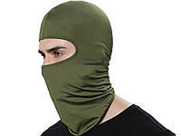 Ветрозащитная велосипедная маска Heonyirry  Зеленый