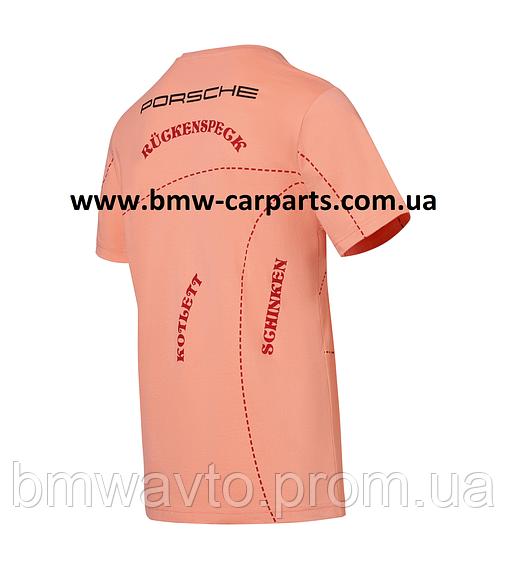 Футболка унисекс Porsche Motorsports Le Mans 911 RSR T-shirt - Pink Pig, фото 2