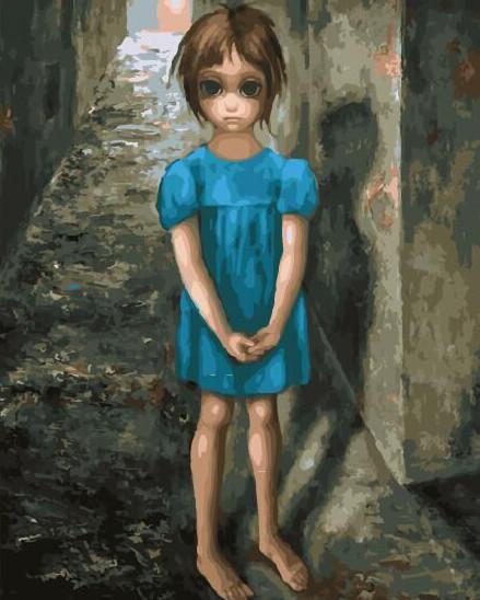 "Картина по номерам BrushMe ""Дочь. Маргарет Кин"" 40х50см GX29289"