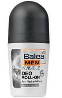 Роликовый дезодорант мужской невидимая защита Balea Man Deo Roll-on Invisible