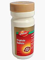 Тріфала в таблетках Дабур, 60 таб. Тріпхала , triphala tablets Dabur, очищення організму та покращення роботи