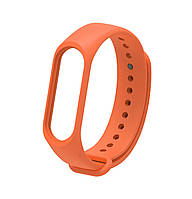 Ремешок Silicone для фитнес-браслета Xiaomi Mi Band 3 / Mi Band 4 Orange