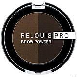 Тени для бровей RELOUIS PRO Brow Powder, фото 6