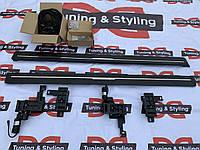 Land Rover Discovery Sport Боковые площадки с выездным механизмом (2 шт., алюминий)