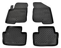 Dodge Caliber Резиновые коврики Norplast (4 шт, резина)