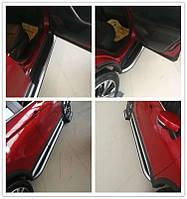 Mitsubishi Eclipse Cross Боковые пороги Оригинал (2 шт, алюминий)
