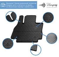 Volkswagen Crafter 2017↗ гг.  Резиновые коврики (3 шт, Stingray Premium)
