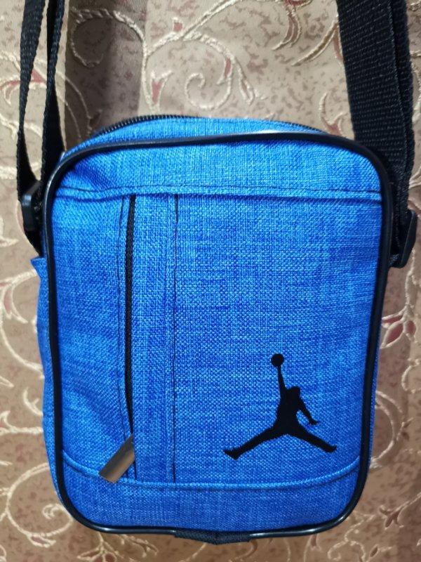 (18*14-маленький)Барсетка jordan сумка спортивные мессенджер для через плечо Унисекс ОПТ