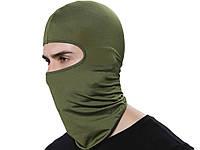 Вітрозахисний велосипедна маска Heonyirry  Зелений