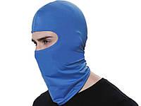 Вітрозахисний велосипедна маска Heonyirry  Синій
