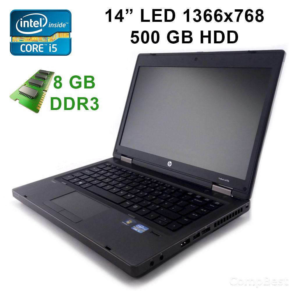 "HP ProBook 6470b / 14"" / Intel Core i5-3210M (2(4)ядра по 2.5GHz) / 8GB RAM / 500 GB HDD / 2 x USB 3.0, USB 2.0, VGA, DP, RJ-45, RJ-11"