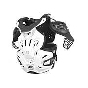 Защита тела и шеи Fusion vest LEATT 3.0 [White], размер XXL