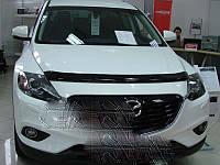 Mazda CX-9 2017↗ Дефлектор капота (SIM)