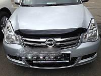 Nissan Almera 2012↗ гг. Дефлектор капота (SIM)