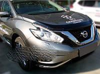 Nissan Murano 2014-2020 гг. Дефлектор капота (SIM)