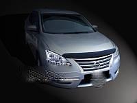 Nissan Sentra 2015↗ гг Дефлектор капота (SIM)