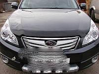 Subaru Legacy 2010-2015 гг. Дефлектор капота (SIM)