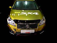 Suzuki SX4 S-Cross 2013-2016 гг. Дефлектор капота (SIM)