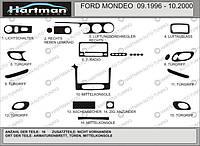 Ford Mondeo 1996-2001 Накладки на панель (под дерево 1996-2001)
