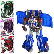 Трансформер 15,5см, 4 вида (2 вида-робот+машинка, 2 вида-робот+динозавр) ,в кор-ке