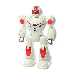 Робот 22см, ходит, звук в коробке, фото 2