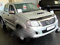 Toyota Hilux 2011-2015 гг. Дефлектор капота (SIM)