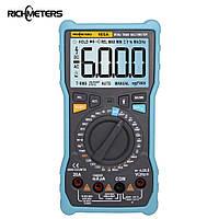 RICHMETERS 405A True-RMS цифровой мультиметр 6000 отсчетов