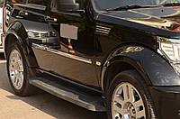 Jeep Cherokee 2007-2013 Молдинг накладки на дверной молдинг