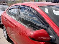 Hyundai Accent 2017- Ветровики (4 шт, SIM)