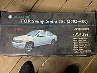Nissan Sunny 2001-2006 Хром пакет (комплект)