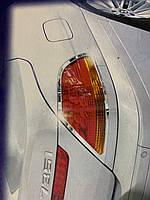 BMW 7 E65 Накладки на стопы (2 шт, ABS)