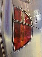 Lexus LS 2001-2006 Накладки на стопы (АБС, хром)