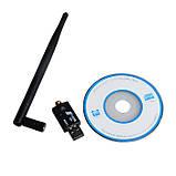 USB WiFi адаптер, роутер, точка доступа, усиленная антенна, фото 6