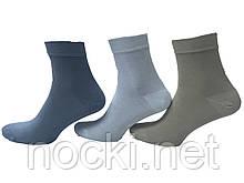 Шкарпетки чоловічі бамбук без шва середньої висоти Carabelli