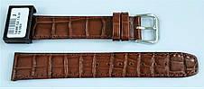 18 мм Кожаный Ремешок для часов CONDOR 169.18.02 Коричневый Ремешок на часы из Натуральной кожи, фото 3