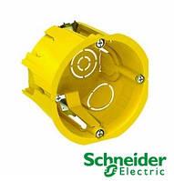 Коробка установочная (подрозетник) 65x45 наборная (гипс) Schneider Electric