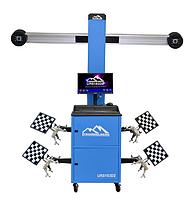3D стенд развал схождения , регулировки углов колес