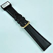 22 мм Кожаный Ремешок для часов CONDOR 054.22.01 Черный Ремешок на часы из Натуральной кожи, фото 3