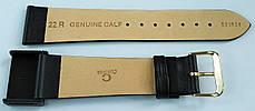 22 мм Кожаный Ремешок для часов CONDOR 081.22.01 Черный Ремешок на часы из Натуральной кожи, фото 3